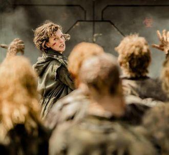 Milla Jovovich dans 'Resident Evil' au cinéma