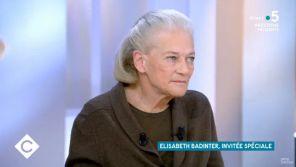 """""""C à vous"""" : Elisabeth Badinter trouve """"lamentable"""" que les féministes soient si """"silencieuses"""" sur l'affaire Mila"""