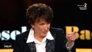 """""""Vous êtes un pervers !"""" : Roselyne Bachelot taquine Laurent Delahousse sur France 2"""