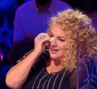 Marianne James en larmes dans 'La France a un incroyable...