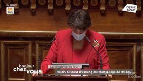 """Roselyne Bachelot rend hommage à VGE, l'homme qui a mis fin à la """"tutelle"""" de l'Etat """"sur la télévision publique"""""""