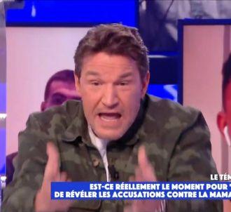 Benjamin Castaldi enrage dans 'Touche pas à mon poste'...