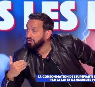 <p>Cyril Hanouna en rage face aux insinuations de Juan...