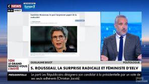 """""""Greta Thunberg ménopausée"""" : Guillaume Bigot regrette ses propos virulents sur Sandrine Rousseau"""