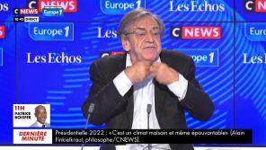 """""""C Politique-ment correct'"""" : Alain Finkielkraut s'en prend à """"C Politique"""" sur France 5, Karim Rissouli lui répond"""