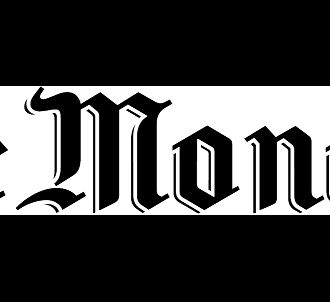 Le logo du journal 'Le Monde'
