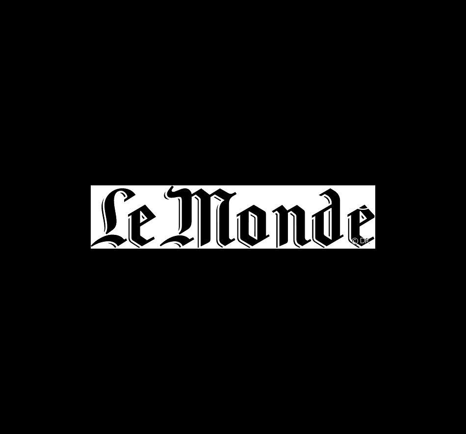 """Le logo du journal """"Le Monde"""""""