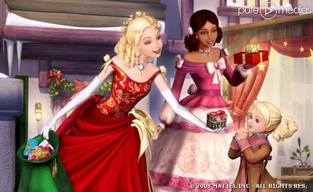 C 39 est trop bien barbie - Barbie la magie de noel ...