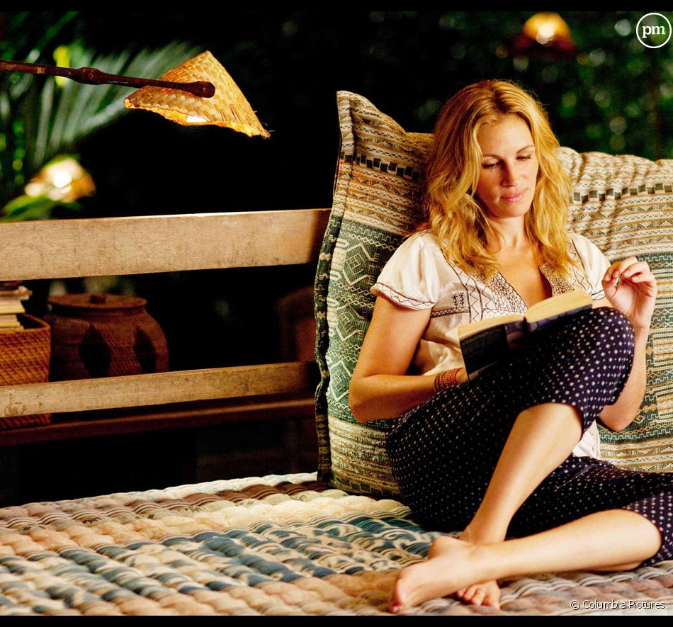 "Julia Roberts dans ""Mange, prie, aime"""