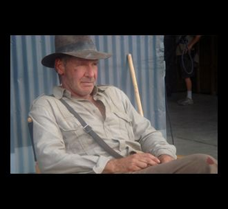 Harrison Ford  dans 'Indiana Jones 4'.