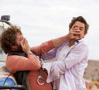 Zach Galifianakis et Robert Downey, Jr. dans 'Date limite'
