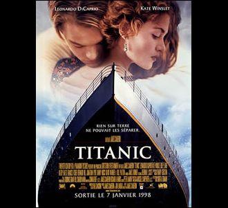 Affiche de 'Titanic'.