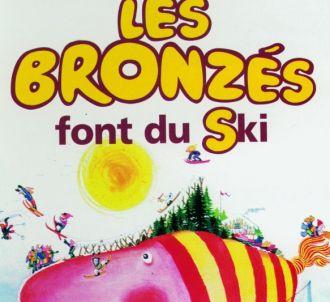 Affiche : Les bronzes font du ski