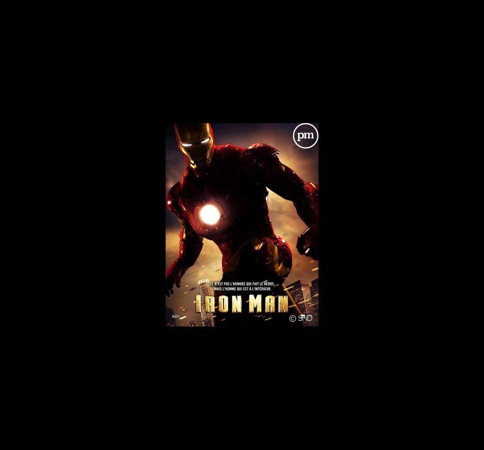 """L'affiche d'""""Iron Man"""""""