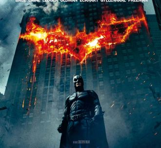 L affiche de 'The Dark Knight, le Chevalier noir'