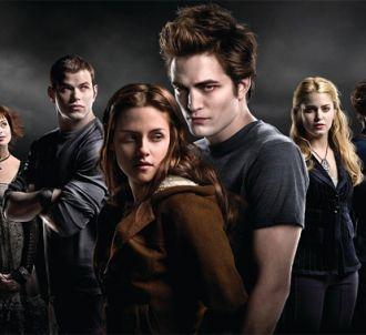 Une partie du cast de 'Twilight'