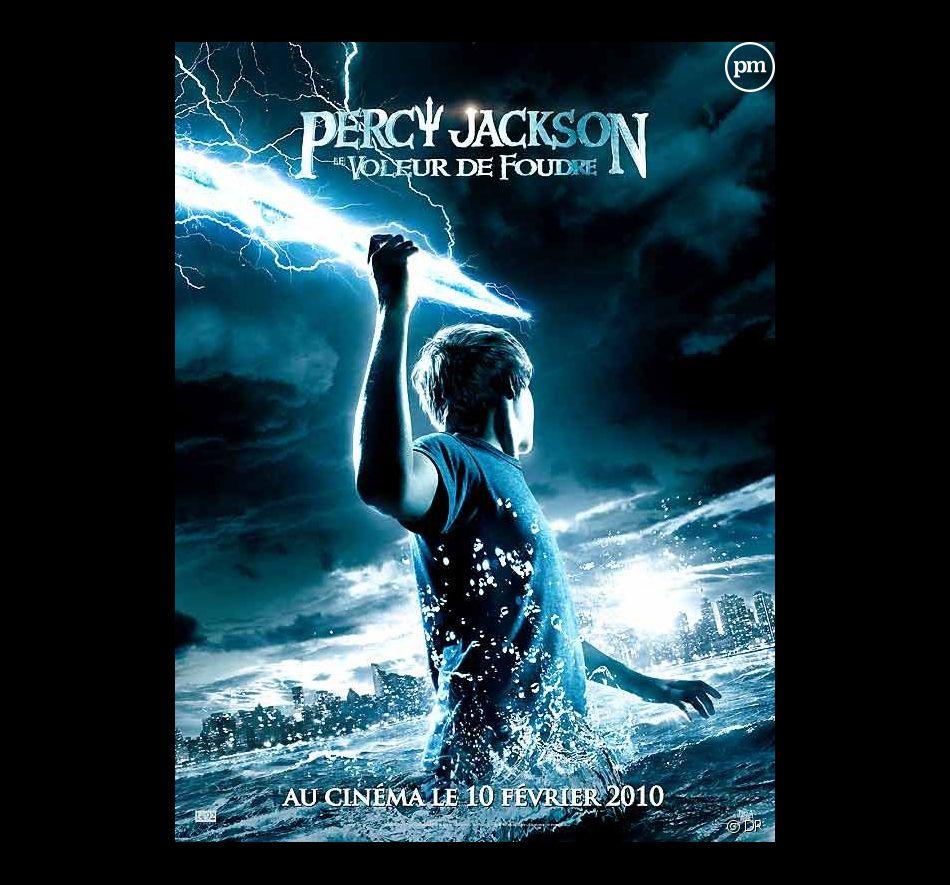 """Affiche """"Percy Jackson : le voleur de foudre"""""""
