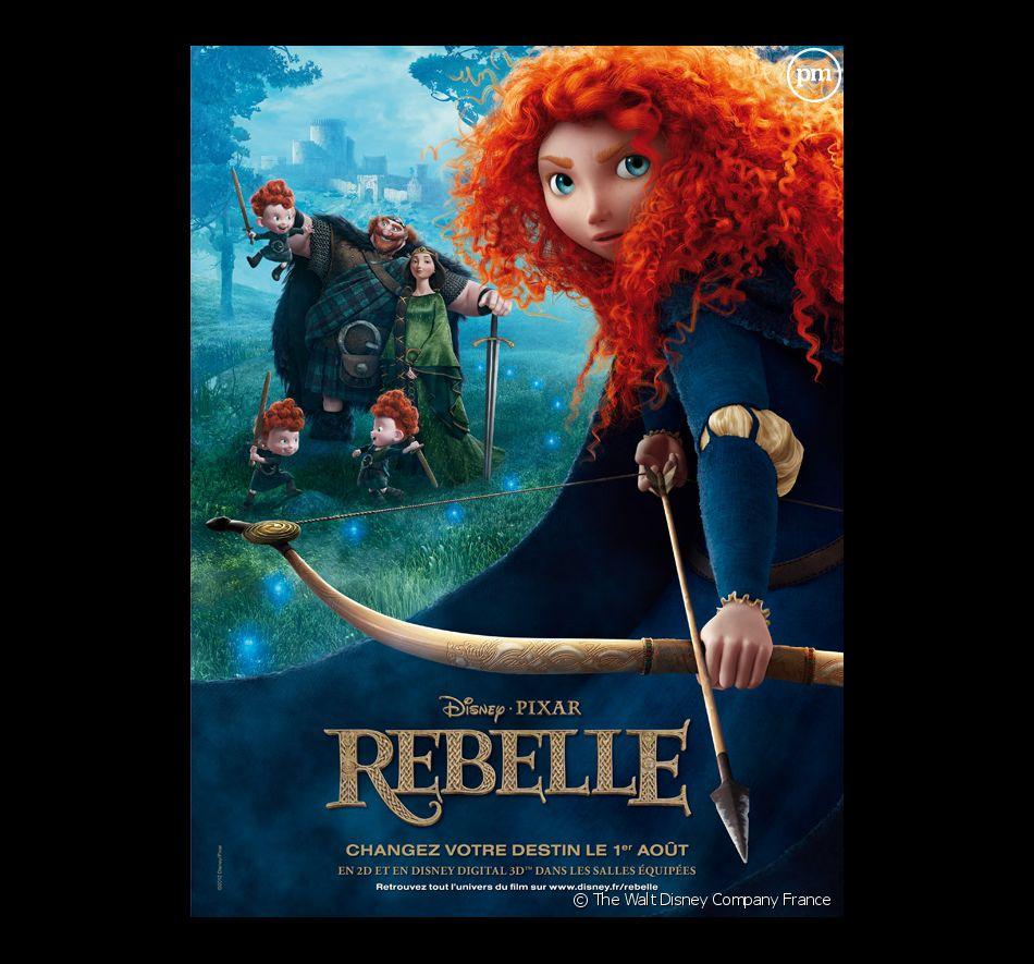 """L'affiche de """"Rebelle"""""""
