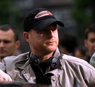 Le réalisateur Gérard Krawczyk sur le tournage de...