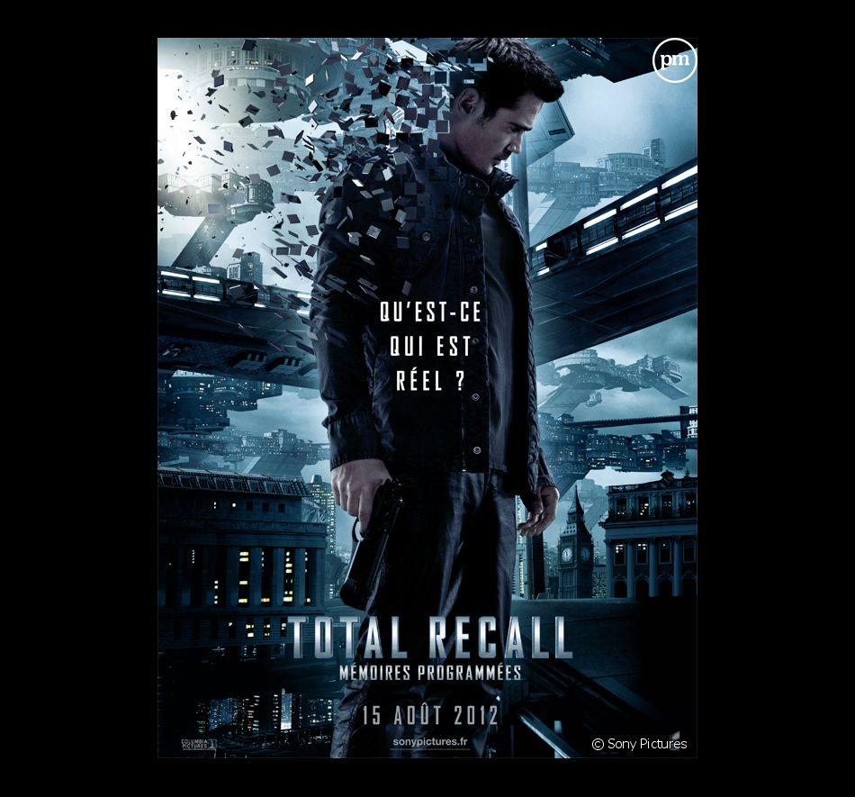 """L'affiche du film """"Total Recall Mémoires programmées"""""""