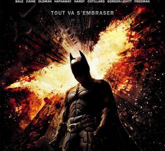 Affiche de 'The Dark Knight Rises'