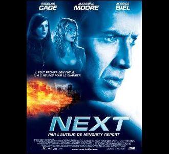 Affiche de 'Next'.