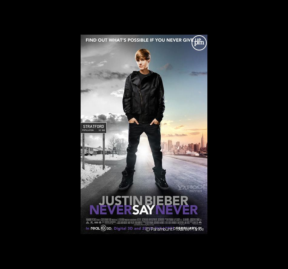 Justin Bieber : never say never