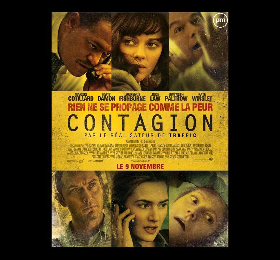 """L'affiche française de """"Contagion"""""""