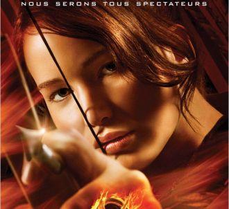 L'affiche du film 'Hunger Games' (2012).