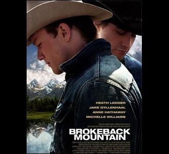 Affiche américaine de 'Brokeback mountain'.