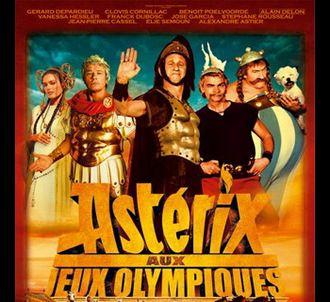 L'affiche du film 'Asterix aux Jeux Olympiques'.
