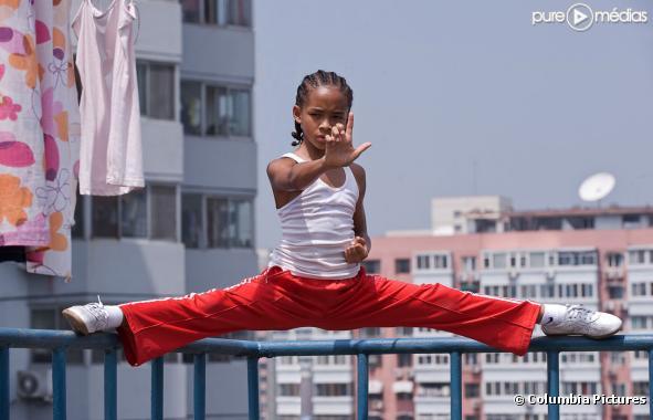 Jaden smith dans karaté kid