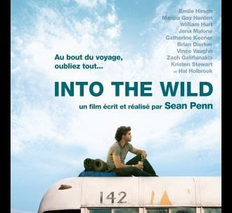 L'affiche du film 'Into the wild'.