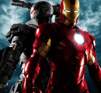 Affiche promotionnelle de 'Iron Man 2'