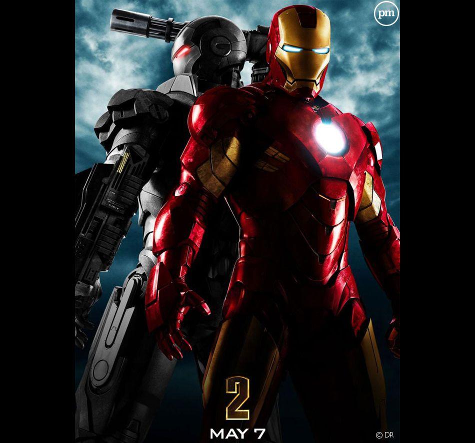 """Affiche promotionnelle de """"Iron Man 2"""""""