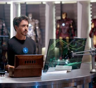 Robert Downey, Jr. dans 'Iron Man 2'