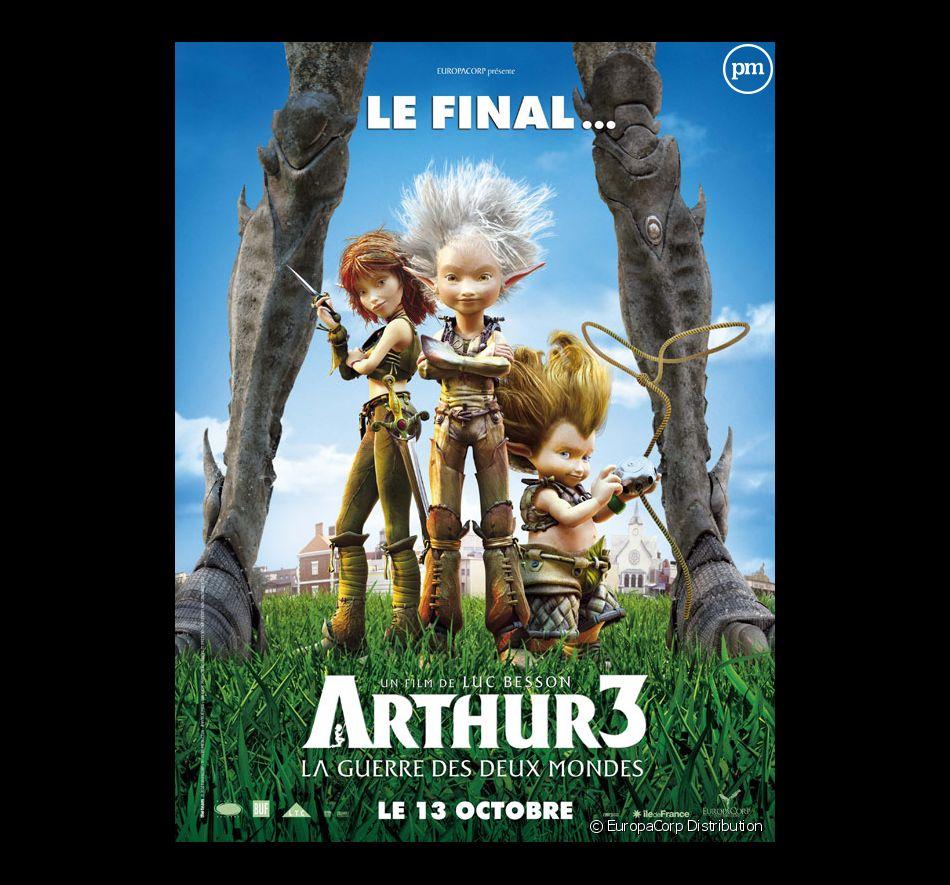 """""""Arthur 3 La guerre des deux mondes"""""""