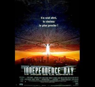 L'affiche du film 'Independence day'