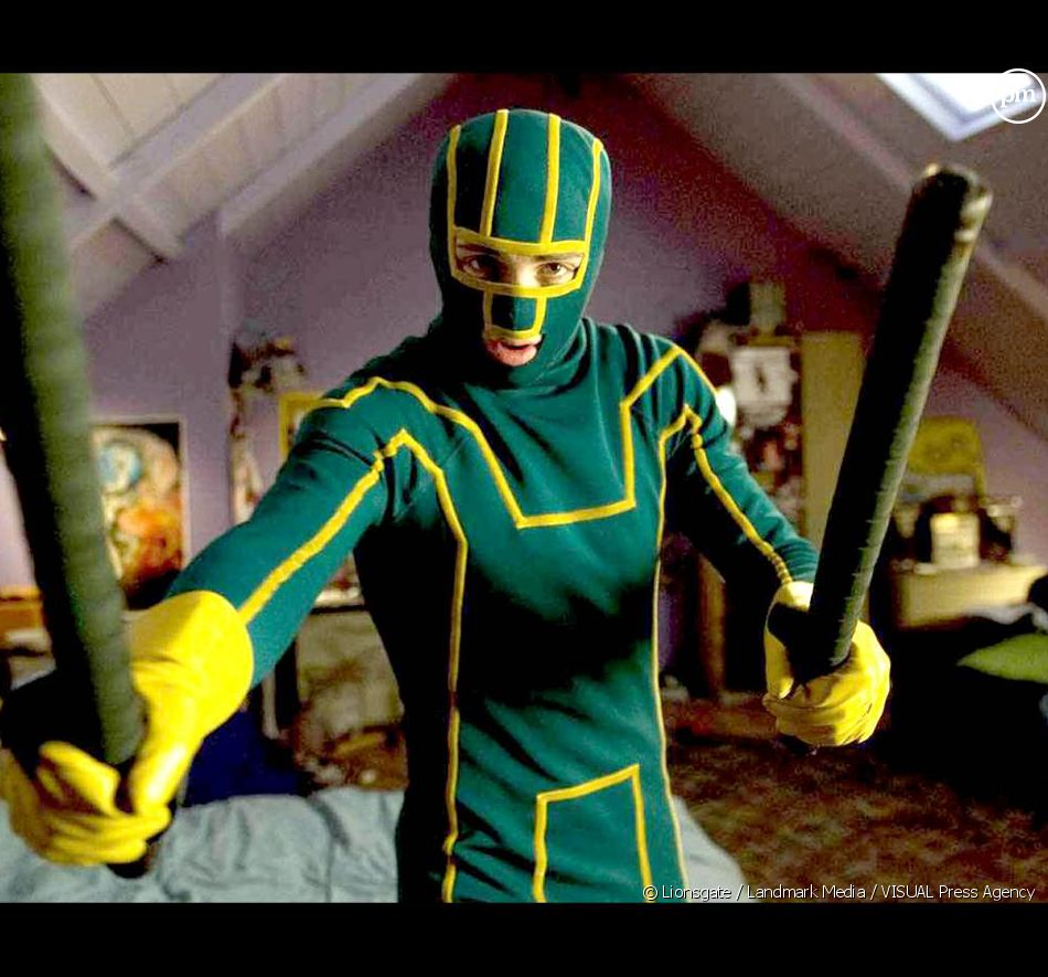 "Aaron Johnson dans ""Kick-Ass"""