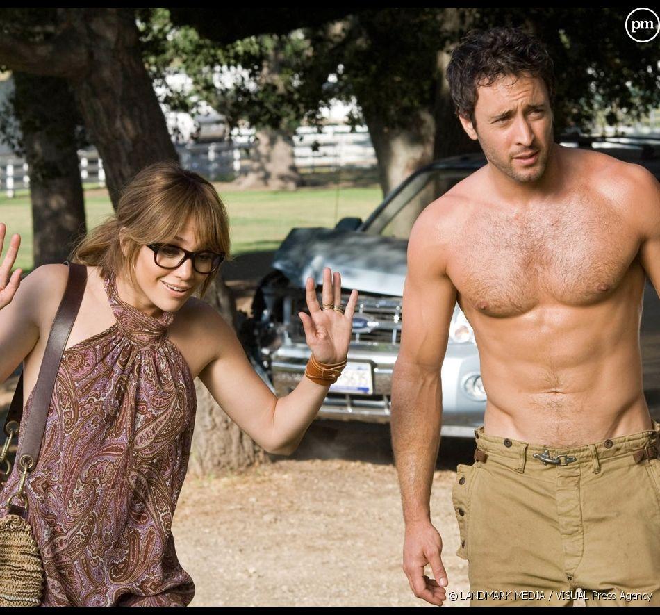"Jennifer Lopez et Alex O'Loughlin dans ""The Back-up Plan"""