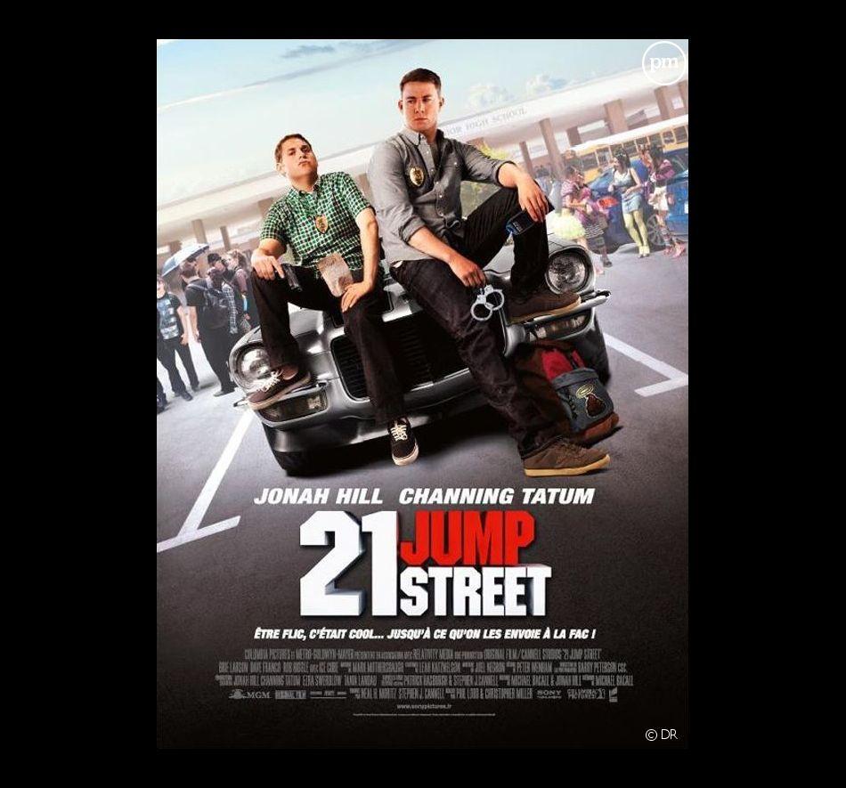 """L'affiche de """"21 Jump Street"""""""
