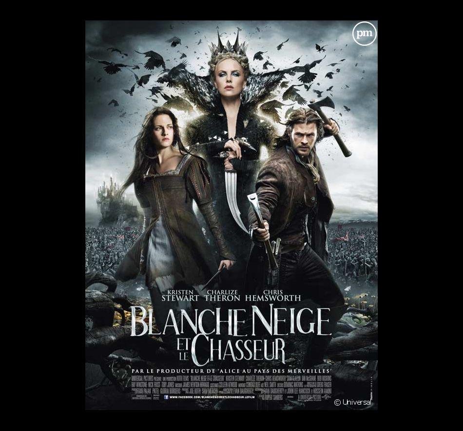 """L'affiche de """"Blanche-Neige et le chasseur"""""""