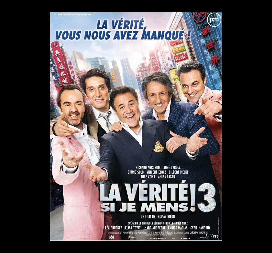 """L'affiche de """"La Vérité si je mens ! 3"""""""