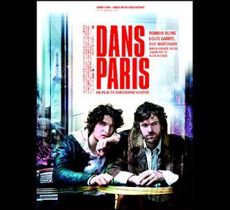 Affiche de 'Dans Paris'.