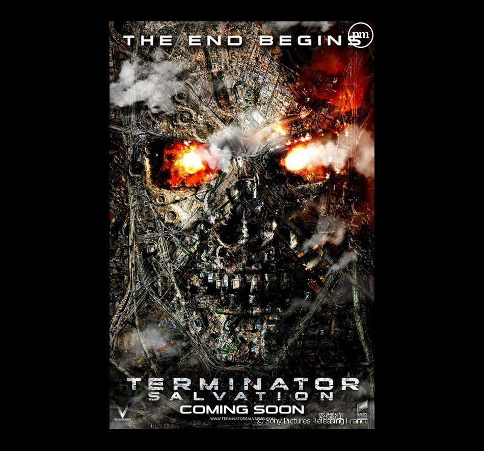 """L'affiche américaine de """"Terminator Renaissance"""""""