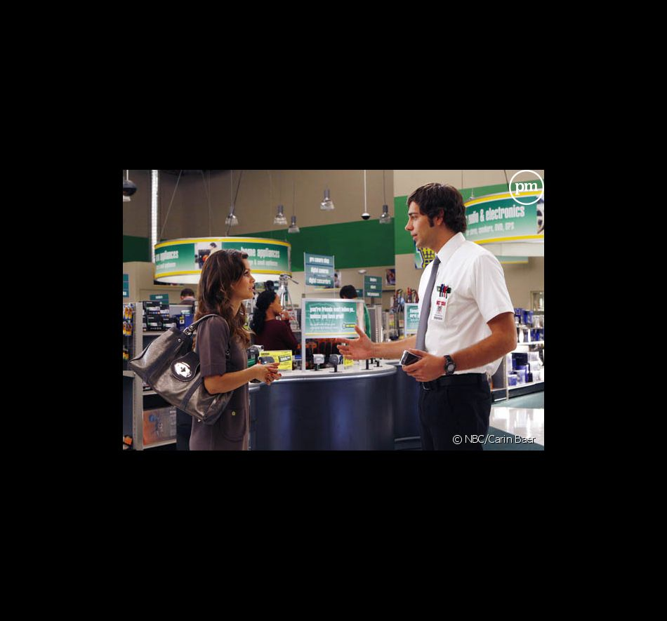 "Rachel Bilson et Zachary Levi dans ""Chuck"""