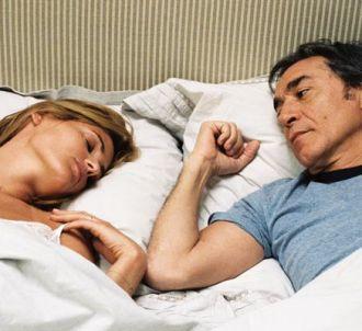 Judith Godrèche et Richard Berry dans 'J'veux pas que tu...