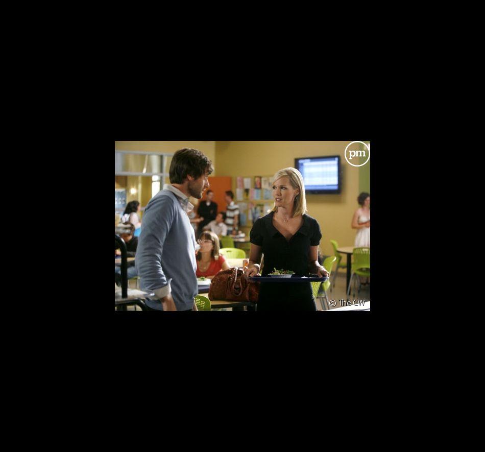"""Ryan Eggold et Jennie Garth dans """"90210"""""""
