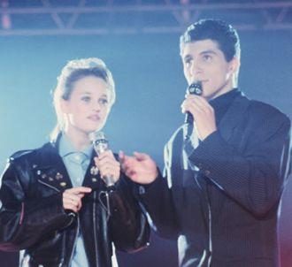 Nagui et Vanessa Paradis sur M6 en 1987