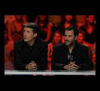 Antoine de Caunes et José Garcia